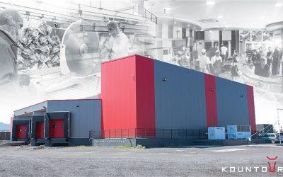 Εγκατάσταση στην εταιρεία «Κρεαταγορά Α/ΦΟΙ Κούντουρου» στην Κύπρο